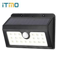 wireless security lights outdoor itimo 3 modes pir motion sensor outdoor lighting solar light