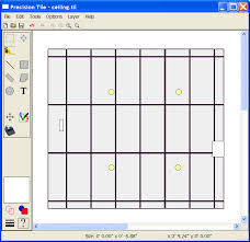 Drop Ceiling Grid by Planning Ceiling Tile Layouts