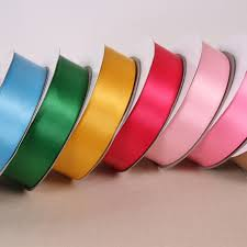 thick ribbon 100y high quality 38mm wide thick polyester satin ribbon for