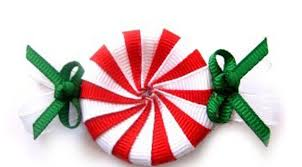 christmas hair bows peppermint candy hair clip christmas hair christmas hair bows
