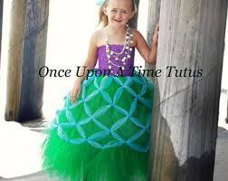 Green Tutu Halloween Costume Mermaid Tutu Dress Etsy