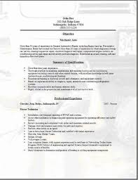 Auto Mechanic Resume Sample by Mechanic Resume Construction Equipment Mechanic Resume Job