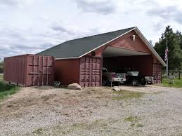 Barn Roof Styles by 80 Best Shipping Container Sheds And Barns Images On Pinterest