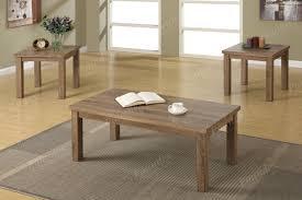Oak Sofa Table by 3 Pcs Ash Oak Table Set