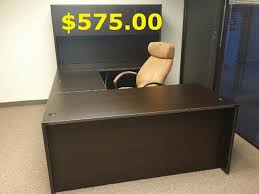 Used Receptionist Desk For Sale Executive Office Furniture Cherryman Amber Desks Conference
