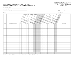 it support report template 8 weekly activity report template bookletemplate org
