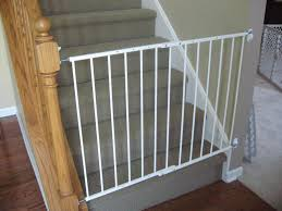 Best Gate For Top Of Stairs With Banister Model Staircase Awesome Staircase Gate Picture Concept North