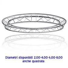 tralicci americana usati americana rotonda alluminio 2 4 6 8 metri diametro
