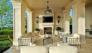 Outdoor Covered Patio Pictures Traditional Porch With Covered Patio U0026 Outdoor Fireplace Zillow