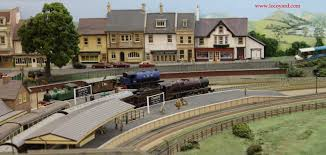 Garden Railway Layouts Pecorama The Loft Extension Cramore Steam Town Station