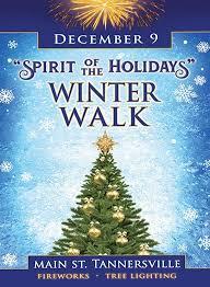 community event spirit of the holidays winter walk catskill