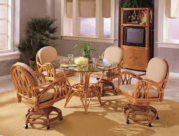 Beautiful Rattan Dining Room Set Contemporary Home Design Ideas - Wicker dining room chairs