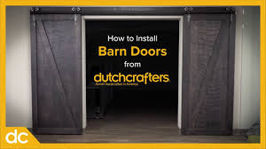 Installing Interior Sliding Doors How To Install Interior Sliding Barn Doors