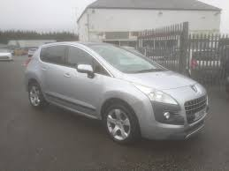 used peugeot suv used peugeot 3008 suv 1 6 hdi fap exclusive 5dr in llangefni north