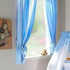 rideau de chambre rideau chambre bébé bleu avec embrasse nœud l jurassien
