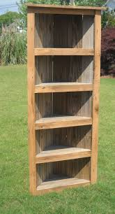 How To Build A Corner Bookcase Dinning Service Station Barnwood Bookcase Barnwood Corner
