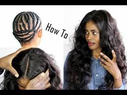 sew in with lace closure how to sew in lace closure beginner friendly