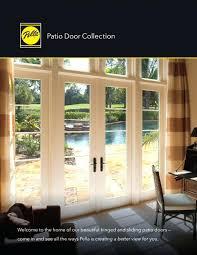 Patio Doors Pella Pella Doors Architect Hinged Patio Doors Convey Warmth