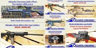 black friday firearm deals atlantic firearms black friday sales flyer slickguns gun deals