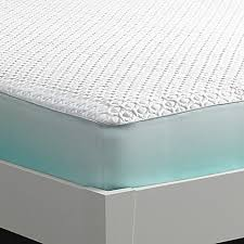 Mattress Protector Bed Bath And Beyond Bedgear Ver Tex Cooling Performance Mattress Protector In White