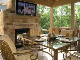 backyard covered patio with fireplace kyprisnews