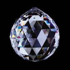 Swarovski Crystal Home Decor Crystal Prisms Collection Faceted Crystal Ball 40mm 1 5