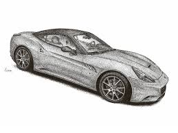 car ferrari drawing ferrari california by medvezh on deviantart