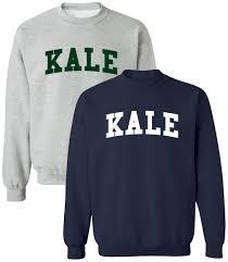 Yale Flag Yale University Style Kale Sweatshirt Tshirt Vegan Gifts