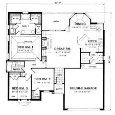 plan42 traditional style house plan 3 beds 2 00 baths 1561 sq ft plan