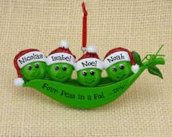 two peas in a pod ornament pea ornament etsy