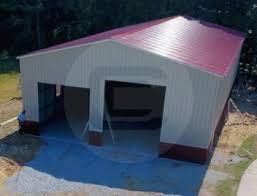 vertical roof style garages enclosed vertical steel garages for sale