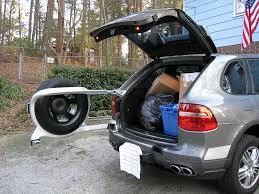 porsche cayenne tire size rear spare tire carrier rennlist porsche discussion forums