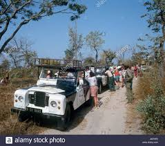 land rover safari land rover safari the gambia west africa stock photo royalty
