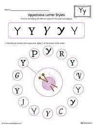 letter y tracing printable worksheet color myteachingstation com