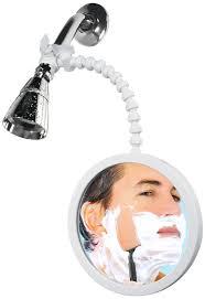 showertek wv2 fog proof shower mirror for best shaving and make up