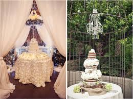 Wonderful Wedding Cake Table Decorations Flowers 18 In Table