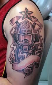 8 firefighter tattoos on half sleeve