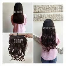 harga hair clip jual hairclip big layer 60cm 1 layer fullhead hair clip korea