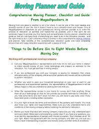 Relocation Estimate by Comprehensive Moving Planner Checklist And Guide From Magadhpackers