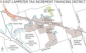 Tanger Outlet Map Busy 2 Mile Stretch Of Lincoln Highway East Targeted For Long