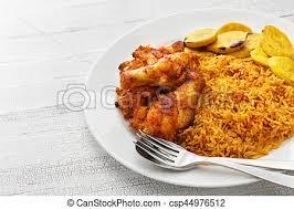 cuisine africaine poulet cuisine riz ouest jollof plantain africaine poulet