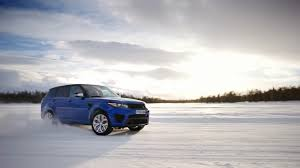 land rover snow range rover sport svr the science behind the speed one life
