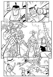 printable coloring pages u003e samurai jack u003e 44558 samurai jack