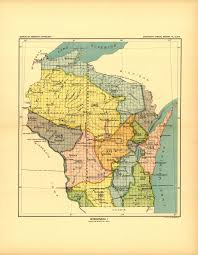 Wisconsin Map Google by Glifwc Ceded Territory