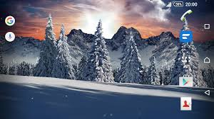winter snowfall day night real 3d free christmas android apps on