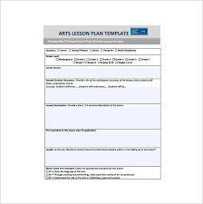 sample teacher lesson plan template best 10 teacher lesson