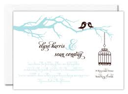 bird wedding invitations wedding invitation with two birds
