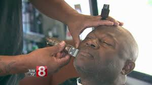 new haven barber shop puts hair cuts on wheels youtube