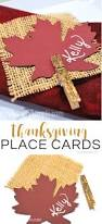 make thanksgiving cards thanksgiving place cards burlap u0026 glitter typically simple