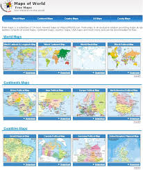 Printable World Maps by Printable World Map For Children
